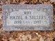 Hazel A. <I>Goodenough</I> Sellers