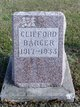 Profile photo:  Clifford Barger