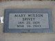 Mary Elizabeth <I>Wixson</I> Spivey