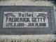 "Frederick Chancy "" "" <I> </I> Getty"