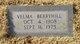 Velma Berryhill