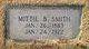 Mittie Bell <I>Ward</I> Smith