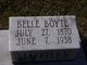 Profile photo:  Bell Boyte