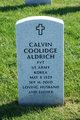 Profile photo:  Calvin Coolidge Aldrich