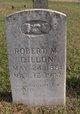 """Robert Moses """"Sweet"""" Dillon"""