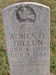 Agnes D Dillon
