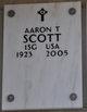 Profile photo:  Aaron T Scott