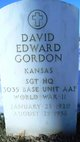 David Edward Gordon
