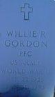 Willie R Gordon