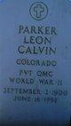 Parker Leon Calvin