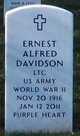Ernest Alfred Davidson