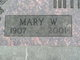 Profile photo:  Mary Wilson <I>Whitaker</I> Mink