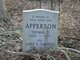 Profile photo:  Mary B. <I>Hawkins</I> Apperson
