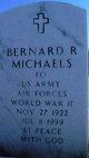 """FO Bernard Ross """"Bernie"""" Michaels"""