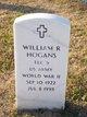 William R Hogans