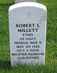 Profile photo:  Robert L Millett