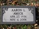 Profile photo:  Aaron Luther West Amick