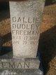 "Caroline ""Callie"" <I>Goodwyne</I> Freeman"