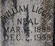 William Liggon Neal