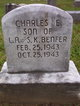 Profile photo:  Charles E Benfer