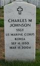 Profile photo:  Charles Monroe Johnson