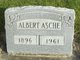 Profile photo:  Albert Fred Asche