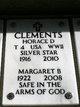 """Profile photo:  Margaret Isabel """"Bonnie"""" <I>Watkins</I> Clements"""