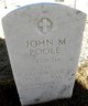 John Monhan Poole