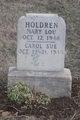 Carol Sue Holdren