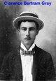 """Clarence Bertram """"Popsie"""" Gray"""