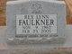 Rex Lynn Faulkner