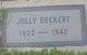 Jolly <I>Clark</I> Beckert