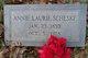 Profile photo:  Annie Laurie <I>Cobb</I> Scheske