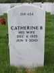 Profile photo:  Catherine B Martinez