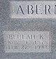 Profile photo:  Beulah Katherine <I>Henry</I> Abernathy
