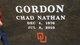 Profile photo:  Chad Nathan Gordon