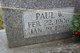 Paul W Fogle, Sr
