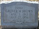Grover M Brown