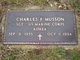 Sgt Charles F Musson