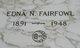 Edna N Fairfowl