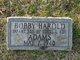 Profile photo:  Bobby Harold Adams