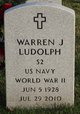 Profile photo:  Warren J Ludolph