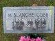 Profile photo:  M Blanche Cobb
