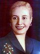 "Profile photo:  Eva ""Evita"" Perón"