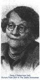 Profile photo:  Daisy O. <I>Robertson</I> Daly