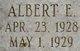 Profile photo:  Albert Elwood Bringle