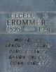 Cecelia B Frommert