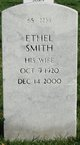 Profile photo:  Ethel <I>Smith</I> Hardin