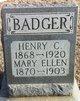 Henry C. Badger
