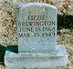 Lizzie <I>Stoops</I> Brewington